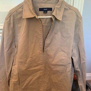 Men's khaki Jacket lightly worn